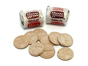 Necco Candy Chocolate Wafers - Mini Rolls (1 Pound)