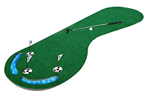 PGA Tour Three-Hole Putting Mat - 3 x 9 ft