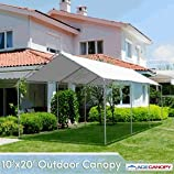 Outdoor Canopy 10x20 Heavy Duty - White