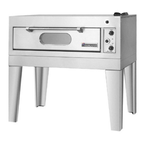 """208V 3 Phase Garland E2001 55 1/4"""" Single Deck Electric Pizza Oven"""