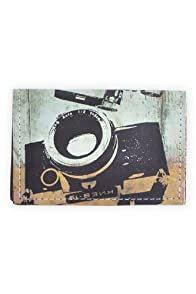 Fluffy Co Camera Leather Card Case