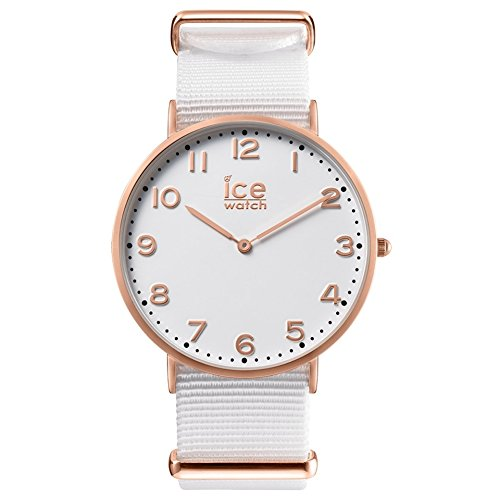 Ice-Watch unisex-Orologio da polso al quarzo in pelle CHL.A.WHI,36.N,15