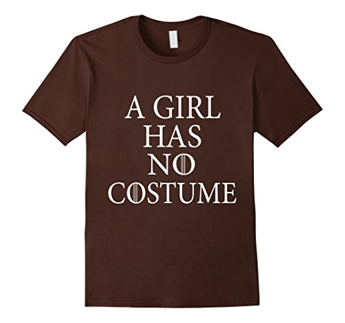 [Men's a girl has no costume tshirt 3XL Brown] (Boogie Man Nightmare Before Christmas Costumes)