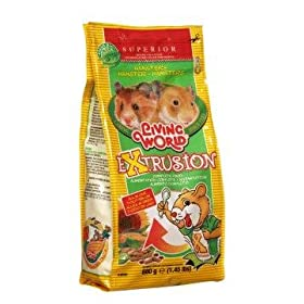 Living World Extrusion Hamster Food 1.5 lb