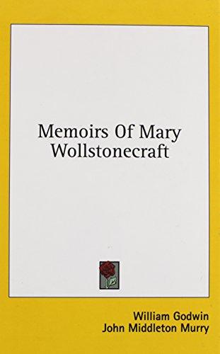 Memoirs of Mary Wollstonecraft