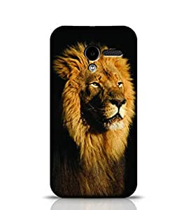 Stylebaby Phone Case African Lion Back Cover For Moto X 1st Gen Multicolor