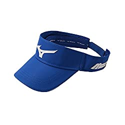 Mizuno Men's Mizuno Sonic Visor, Adjustable, Cobalt/White