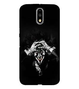 EPICCASE Joker Mobile Back Case Cover For Moto G4 / G4 Plus (Designer Case)