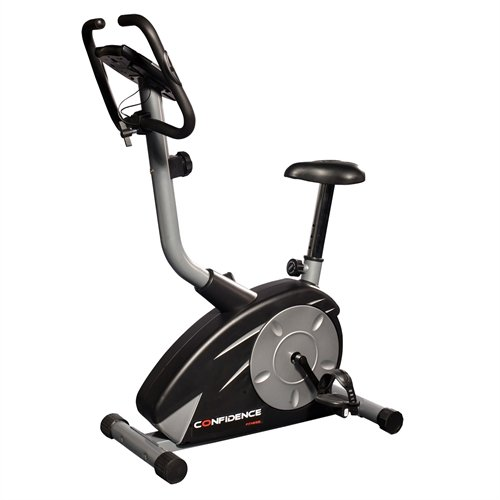 Confidence Pro Trainer Magnetic Upright Fitness Exercise Bike