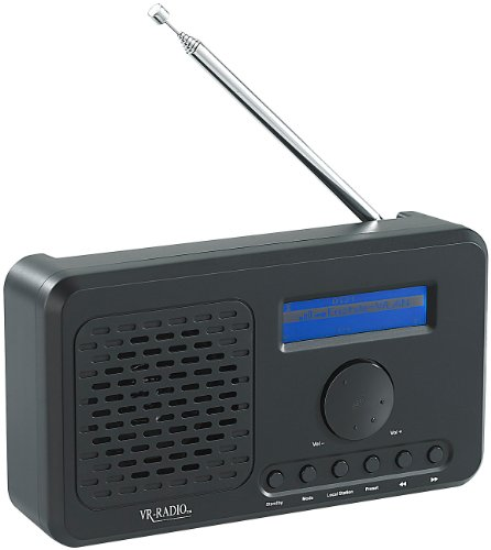 VR-Radio WLAN-Internetradio mit MP3-Streaming & UKW-Tuner IRS-520.WLAN