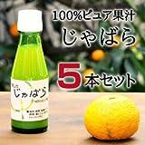 伊藤農園100%ピュア果汁 じゃばら果汁100ml × 5本セット 花粉症対策に!