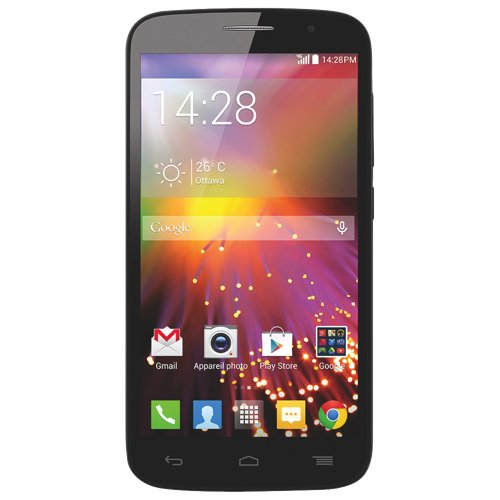 "Unlocked Alcatel Onetouch Pop Icon 7040T Google Android Phone, Front And Rear Camera, 5Mp, 5"" Lcd, Led Flash, Black, New, Bulk Packaged, 2G Gsm 850/900/1800/1900Mhz, 3G Hspa 850/1900Mhz, Aws 1700/2100Mhz"