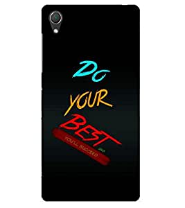 Doyen Creations Printed Back Cover For Sony Xperia Z3 Plus