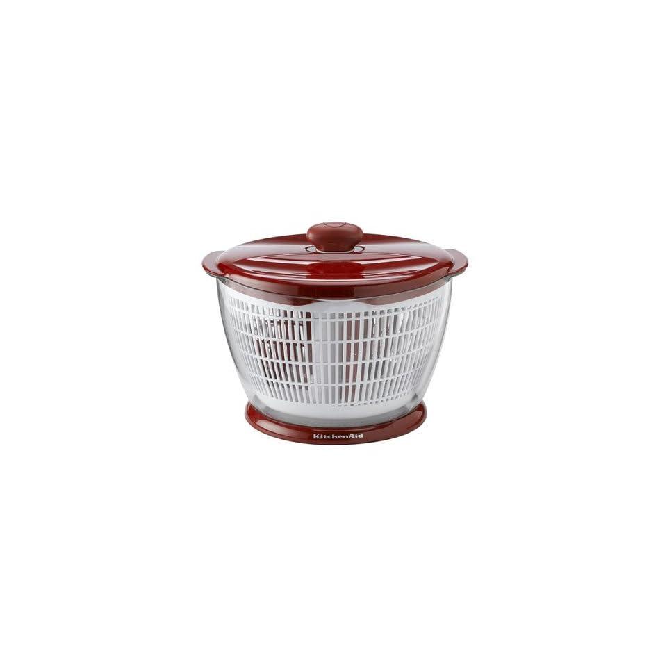 Lifetime Brands KA Salad/Fruit Spinner Red on PopScreen
