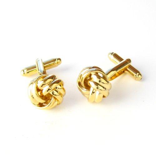 Gold Knots Cufflinks