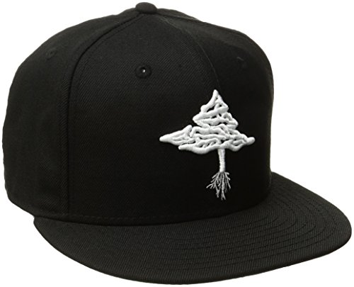 LRG Men's Retro Eternity Snap Back, Black, OSFM (Lrg Panel Hat compare prices)