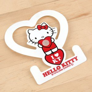 HELLO KITTY towel holder K / T Heart (japan import)