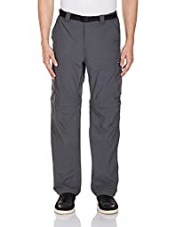Columbia Silver Ridge Convertible Pant, 34x34, Grill