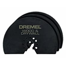 Dremel MM450B Multi-Max Wood Drywall Saw Blade, 3-Pack