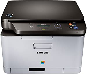 Samsung Xpress C460W/TEG NFC-Multifunktionsgerät (Kopieren, Drucken, Scannen, 2.400 x 600 dpi, WiFi, USB), weiß