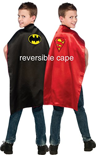 Batman Superman Reversible Cape Child Batman Cape Superman Cape Dress Up Cape 4870