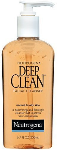 Neutrogena Deep Clean Facial Cleanser, Normal To Oily Skin, 6.7 Ounce(Pack Of 3) front-269253