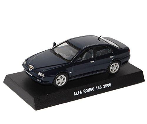 alfa-romeo-166-2000-limousine-dunkel-blau-schwarz-1-43-de-agostini-modellauto-modell-auto-sonderange