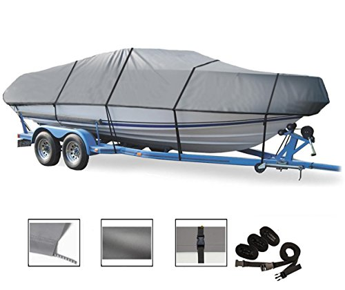 GREAT QUALITY BOAT COVER FITS BOSTON WHALER DAUNTLESS 180 W/BOW RAILS 2008-2012