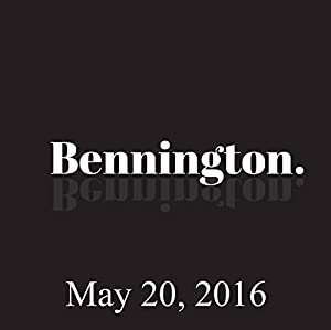 Bennington, Maz Jobrani, May 20, 2016 Radio/TV Program