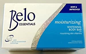 Belo Essentials Nourishing Whitening Body Bar Soap w/ Kojic Acid & Glutathione