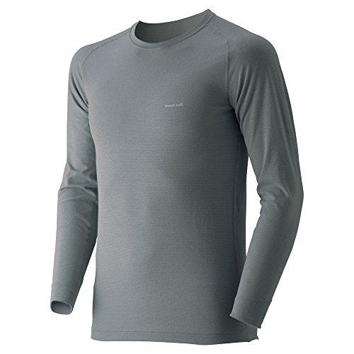モンベル ジオラインM.W.ラウンドネックシャツ