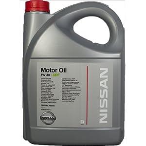 genuine nissan dpf oil 5w30 5 litres all diesel engines. Black Bedroom Furniture Sets. Home Design Ideas