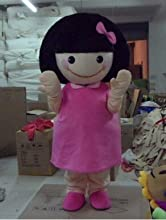 Happy Family Free Shipping Cherry Small Meatball Girl Cartoon Character Costume Mascot Cosplay Custo