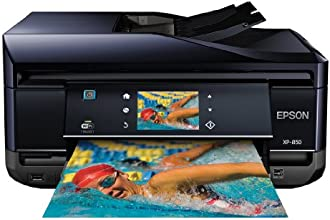Epson Expression Home XP-850 Wireless Color Photo Printer with Scanner, Copier & Fax C11CC41201