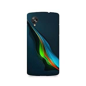 TAZindia Designer Printed Hard Back Case Cover For LG Nexus 5