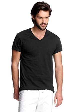 ESPRIT MCAS N32604 Men's T-Shirt Black XXX-Large