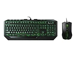 Cooler Master Devastator - LED Gaming Keyboard and Mouse Combo Bundle (Green Edition)