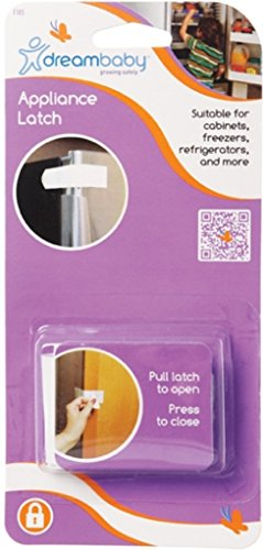 Dream Baby Appliance Latch Color: White - 2 Count