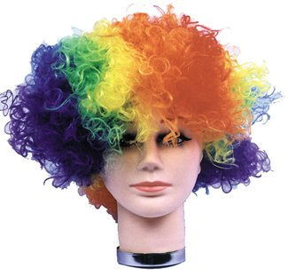 Clown Wig Curly