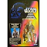 STAR WARS POWER OF THE FORCE HAN SOLO IN HOTH GEAR FIGURE