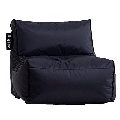 Big Joe Zip Modular Sofa - Stretch Limo Black - Armless Chair Only