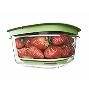 Rubbermaid Produce Saver Food Storage Container, 5-cup