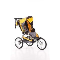 Buy BOB Ironman Single Stroller, Yellow by BOB