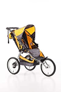 BOB Ironman Single Stroller, Yellow