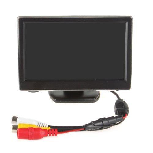 """Epathchina® 5"""" Tft-Lcd Digital Car Rear View Monitor Lcd Display For Vcd/Dvd/Gps/Camera"""