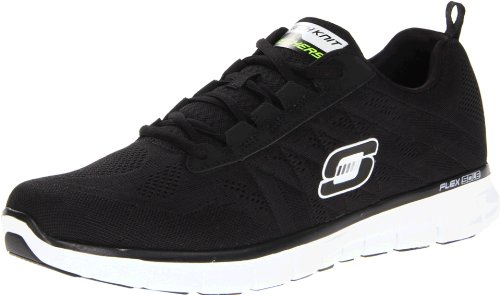 Skechers Synergy Power Switch, Sneakers Uomo, Nero (BKW), 40 EU