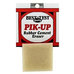 Amazon.com: Pik-Up Rubber Cement Eraser