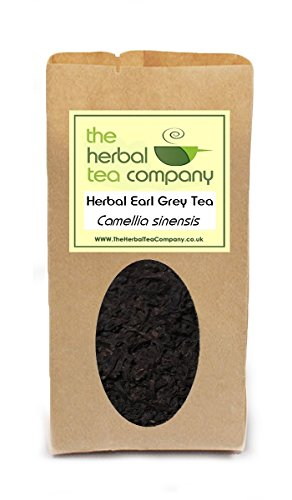 Heather Flowers Earl Grey Tea Blend - With A Hint Of Lemon - Free Infuser - Makes 60+ Cups
