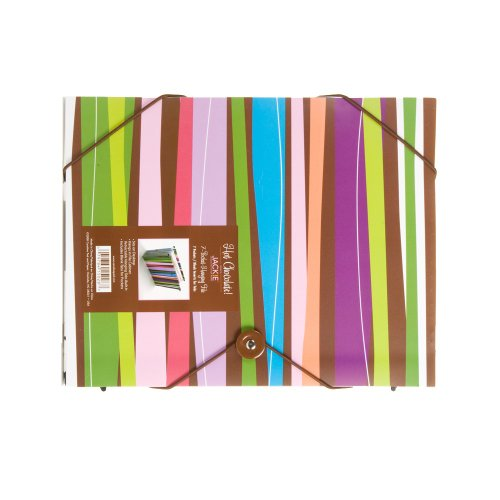 Carolina Pad Hot Chocolate 7-Pocket Hanging File Pixie Sticks Design, 9.25 x 11.75 x 0.5 Inches (15028)