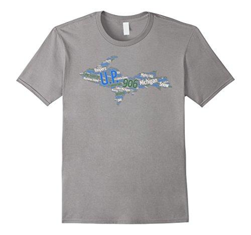 mens-upper-peninsula-of-michigan-t-shirt-906-lake-superior-3xl-slate